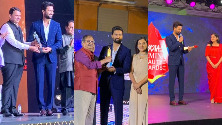 Vicky Kaushal Wins Three Awards at Separate Events in One Evening – View Pics