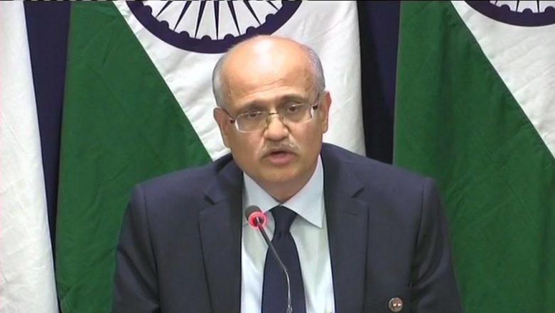 Foreign Secretary Vijay Gokhale Tells China to Be Sensitive to India's Concerns