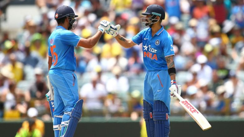Rohit Sharma Could Overhaul Virat Kohli's This Record During India vs New Zealand T20I Series 2019