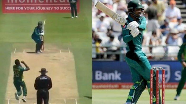 Fakhar Zaman Caught Using a Cuss Word on the Stump Mic During PAK vs SA 5th ODI, Watch Video