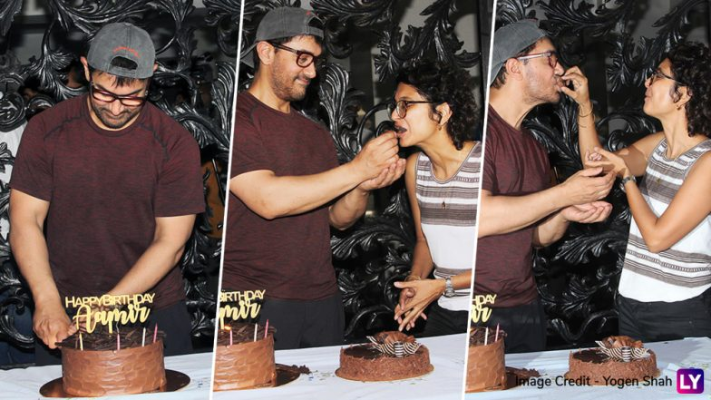 Like Every Year, Aamir Khan Celebrates Birthday With the Media and Wife Kiran Rao - See Pics