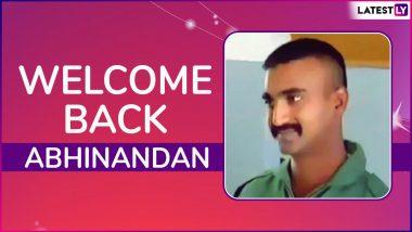 IAF Wing Commander Abhinandan Varthaman Returns to India; Here's How PM Narendra Modi, Punjab CM Captain Amarinder Singh, Virat Kohli And Others Reacted