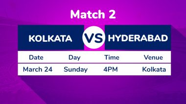 KKR vs SRH, IPL 2019 Match 2 Preview: Kolkata Knight Riders Have Task Cut Out Against Sunrisers Hyderabad at Eden Gardens