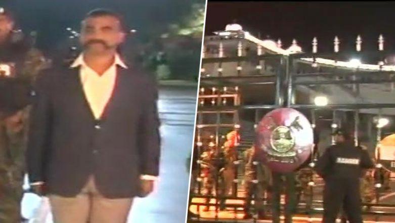 IAF Wing Commander Abhinandan Varthaman Returns From Pakistan Via Attari Wagah Border; India Celebrates; See Pic & Video