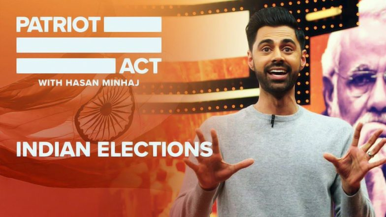 Hasan Minhaj's Patriot Act Episode on Netflix Leaves Twitterati Divided With Standup Comedian's Stark Views on Indian Politics