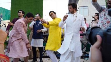 Akash Ambani and Shloka Mehta Wedding: Shah Rukh Khan, Karan Johar and Ranbir Kapoor Dance Like Nobody's Watching - See All Inside Pics