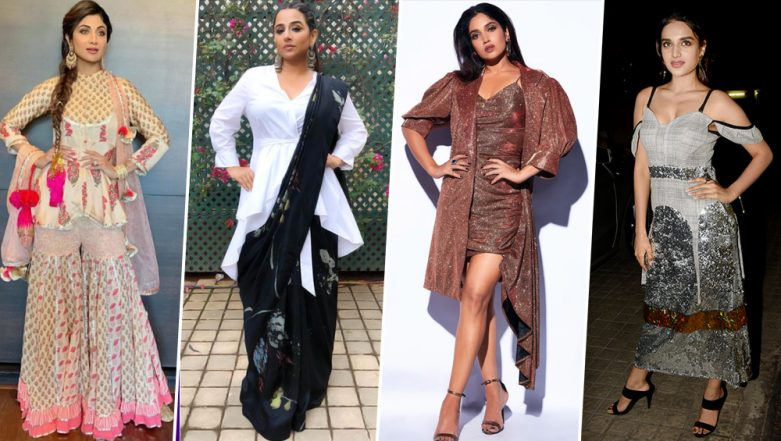 Bhumi Pednekar, Shilpa Shetty and Vidya Balan's Outfits Make Noise For All the Wrong Reasons - View Pics