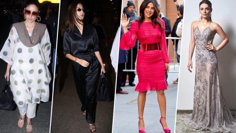 Kareena Kapoor Khan, Anushka Sharma and Priyanka Chopra Find a Place in our Best-Dressed Category this Week - View Pics