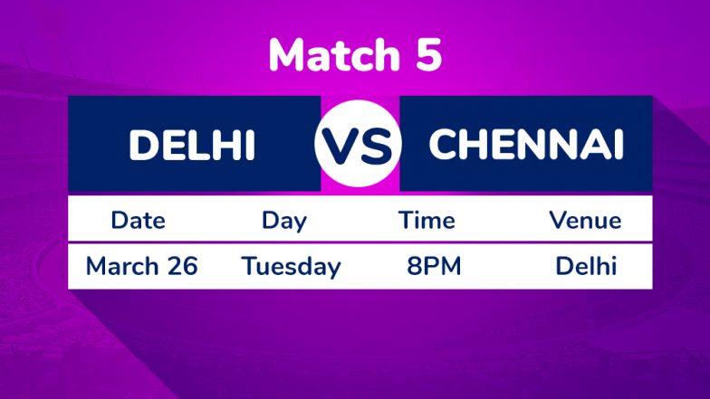 DC vs CSK, IPL 2019 Match 5 Preview: New-Look Delhi Capitals Ready For Chennai Super Kings Challenge at Feroz Shah Kotla Stadium