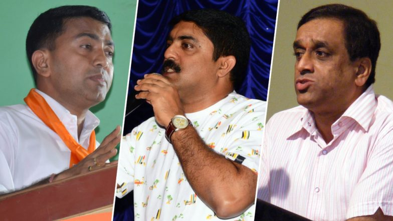 Pramod Sawant to be Next Goa Chief Minister; Vijai Sardesai & Sudin Dhavalikar to be Deputy CMs: Report