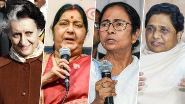 International Women's Day 2019: From Indira Gandhi to Sushma Swaraj, 13 Most Powerful Women in Indian Politics