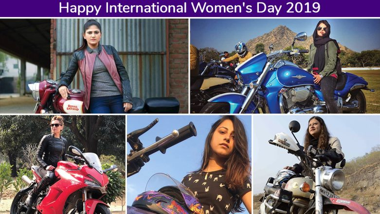 International Women's Day 2019: These 5 Indian Female Bike Riders Went Beyond Limits To Break All The Stereotypes