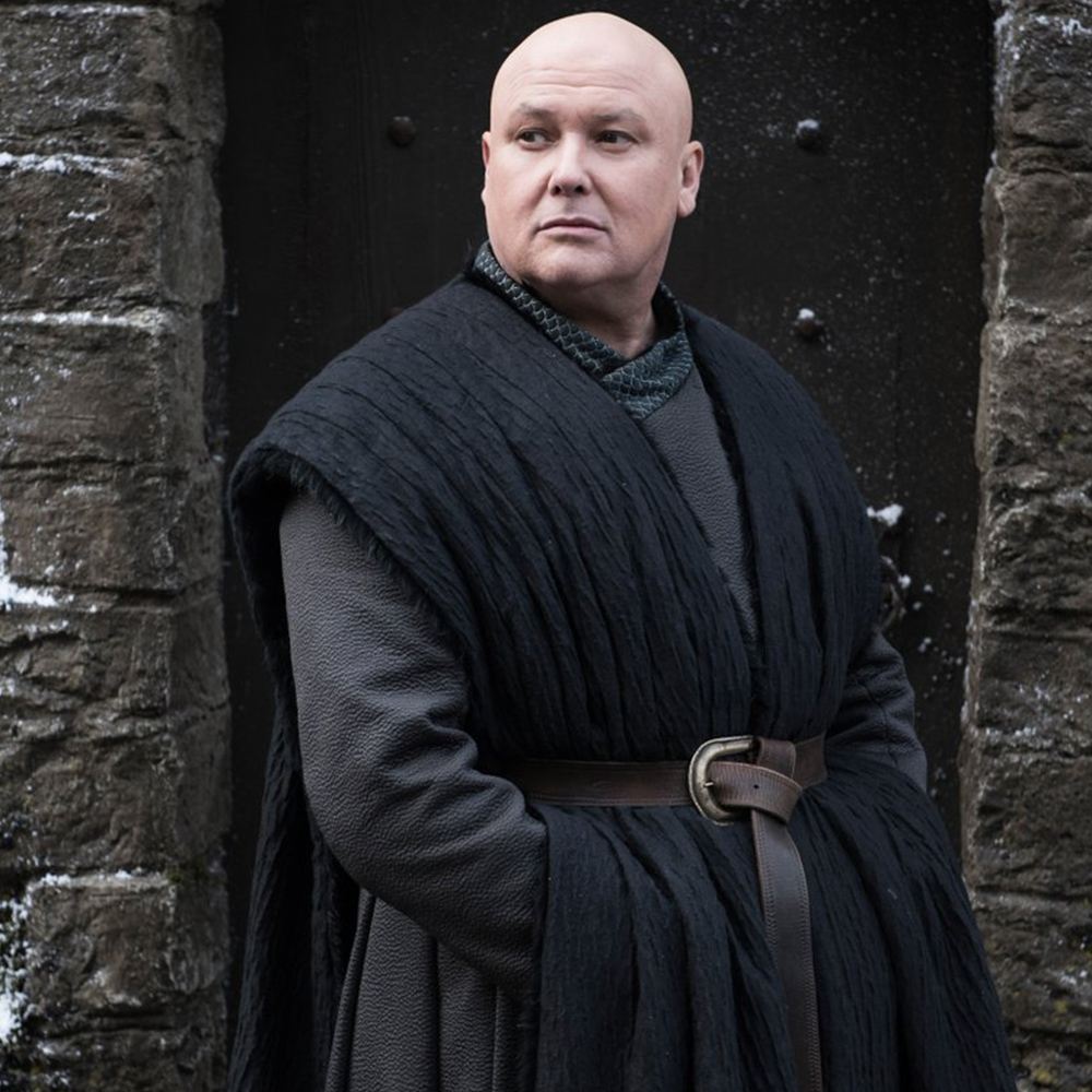 Conleth Hill as Lord Varys.
