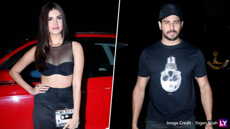 These Pics of Sidharth Malhotra With His Rumoured Girlfriend Tara Sutaria from Marjaavaan Wrap Up Party Will Spark Dating Rumours Once Again