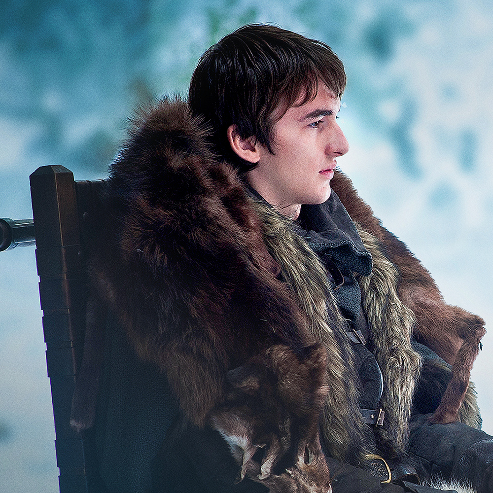 Isaac-Hempstead Wright as Bran Stark.