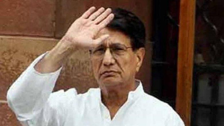 Lok Sabha Elections 2019: RLD Chief Ajit Singh Declares Assets Worth Rs 16.61 Crore in Poll Affidavit