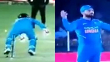 Rishabh Pant Fails to Pull Off an MS Dhoni During India vs Australia, 4th ODI 2019; Virat Kohli Miffed With the Keeper (Watch Video)