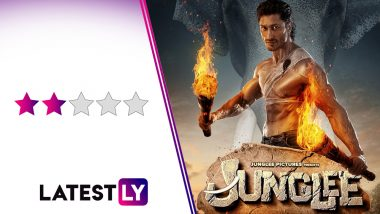 Junglee Movie Review: Vidyut Jammwal Tries too Hard to Save This Average Jungle Drama