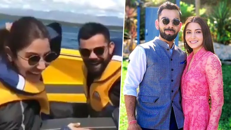 Virat Kohli and Anushka Sharma Go Speed Boating And It Looks Simply CRAZY! - Watch Video
