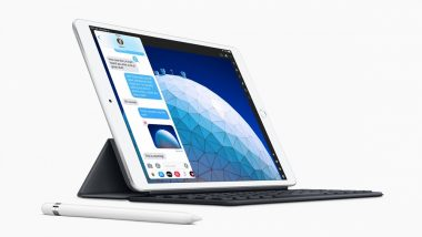 Apple Launches 10.5-Inch iPad Air, 7.9-Inch iPad Mini With First-Time Ever Keyboard Support