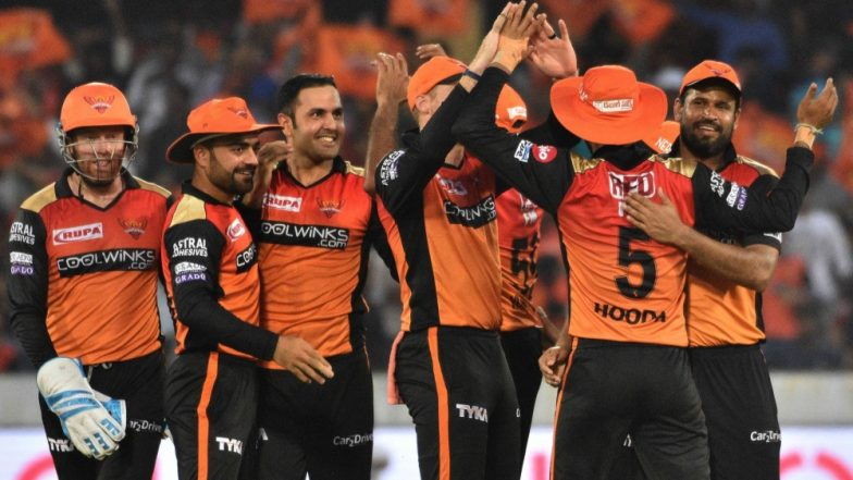 SRH vs KKR, Toss and Playing XI Live Updates: Kane Williamson Wins the Toss & Opts to Bowl; Robin Uthappa & Kuldeep Yadav Dropped (Watch Video)