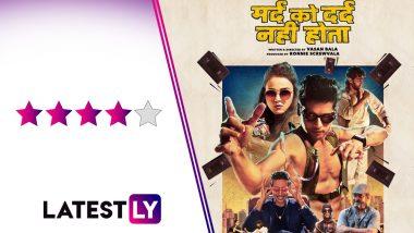 Mard Ko Dard Nahi Hota Movie Review: Abhimanyu Dassani and Radhika Madan's Action-Comedy Is a Sucker Punch to Bollywood's Monotony