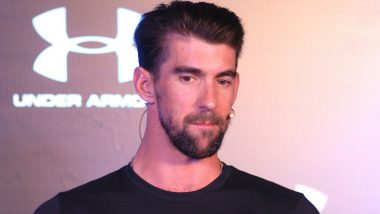 IPL 2019: Delhi Capitals Players Exchange Notes With Olympic Legend Michael Phelps