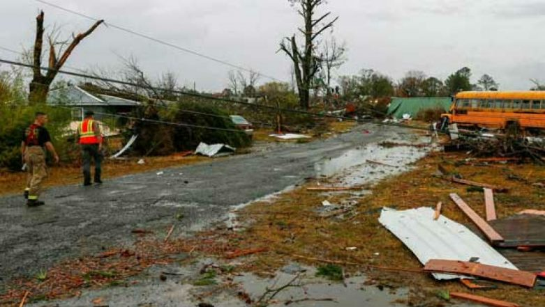 Tornadoes Kill 14 in US State of Alabama, Several Homes Destroyed, People Being Pulled Out of Rubble