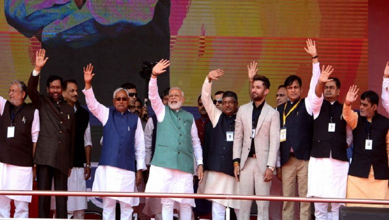 Bihar: NDA Takes Dig at Opposition, After Grand Alliance Fails to Finalise Seat-Sharing Pact