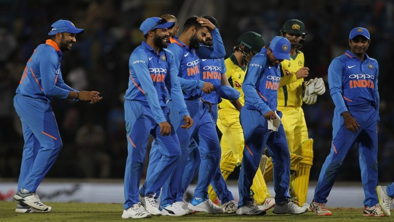 India vs Australia 2nd ODI 2019: Men in Blue Beat Aussies in a Thriller, Leads 5-Match Series 2–0