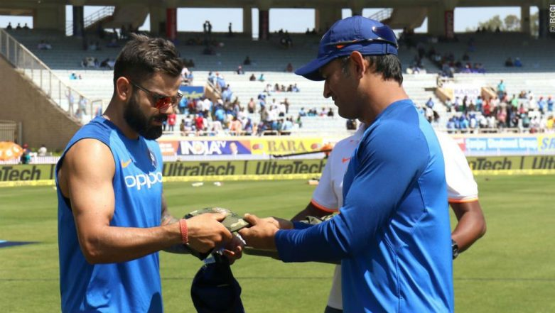 ICC Says BCCI Had Sought Permission For Team India to Wear Camouflage Caps in Memory of Pulwama Martyrs