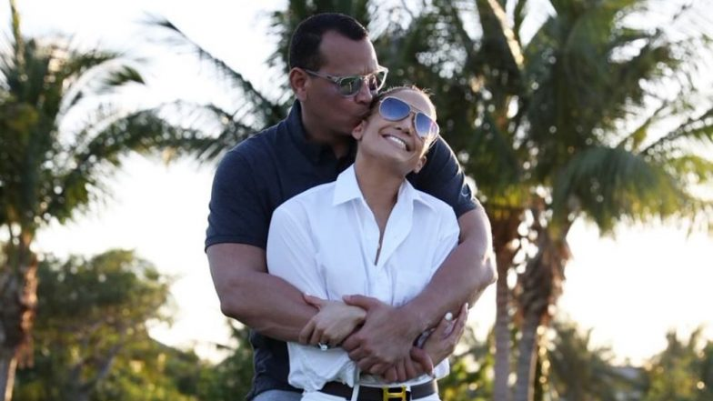 Jennifer Lopez's Fiancé Alex Rodriguez Hits A Home Run With His Latest Sweet Post For His 'Beautiful Woman'