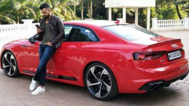Virat Kohli Loves Audi! Indian Captain Poses With Red Hot RS5 Coupe, See Picture