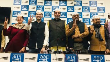 Lok Sabha Elections 2019: AAP Declares Candidates for 6 Out of 7 Seats in Delhi, Says No Alliance With Congress; Here's Full List