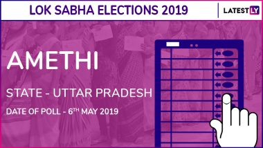 Amethi Lok Sabha Constituency Election Results 2019 in Uttar Pradesh: Smriti Irani Defeats Rahul Gandhi From This Seat