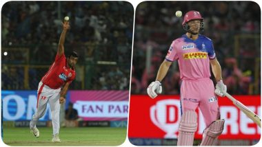 Ravichandran Ashwin Mankads Jos Buttler During RR vs KXIP, IPL 2019; Murali Karthik Gets Into a Verbal Spat With Kevin Pietersen & Micheal Vaughan
