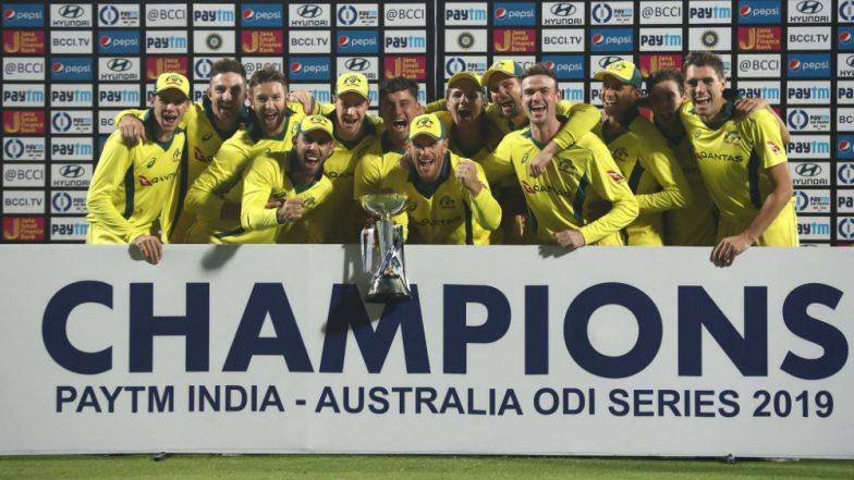 India vs Australia 5th ODI Video Highlights: Usman Khawaja, Adam Zampa Shine As Australia Win Final ODI, Take Series 3–2