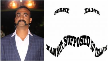 Wing Commander Abhinandan Varthaman's Moustache is Gaining Praises Everywhere After His Return! People Express Desire to Sport IAF Pilot's Look