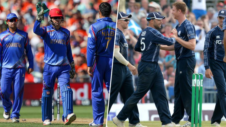 Live Cricket Streaming of Scotland vs Afghanistan ODI Series 2019: Check Live Cricket Score, Watch Free Telecast of SCO vs AFG 1st ODI Online