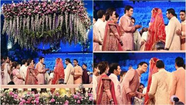 Akash Ambani - Shloka Mehta Wedding Highlights: First Pics of the Bride and Groom are Out