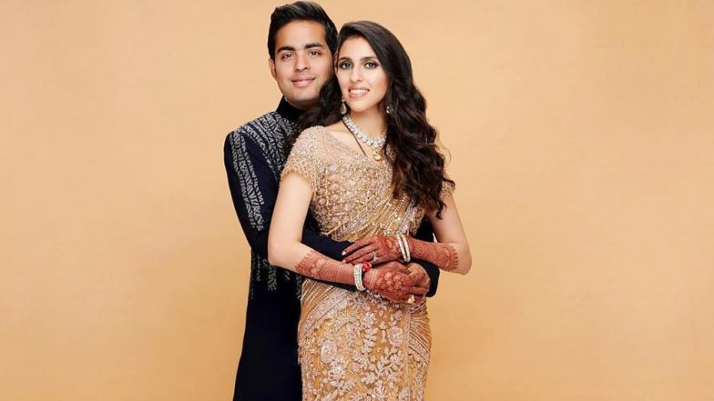 Akash Ambani and Shloka Mehta's Wedding Reception is Traditional, Colourful, and So Chic (See Photo Inside)
