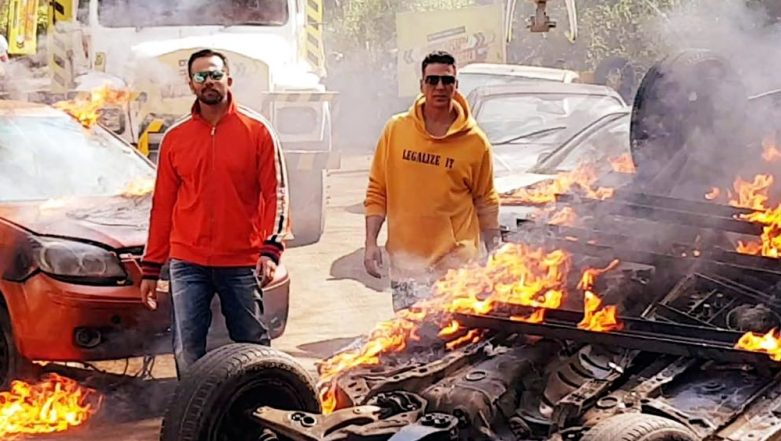 Akshay Kumar's Collaboration With Rohit Shetty Is All Fire, LITERALLY!
