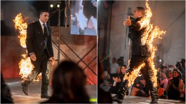 Akshay Kumar Announces His Digital Debut on Amazon Prime With A Fiery Stunt - See Pics!
