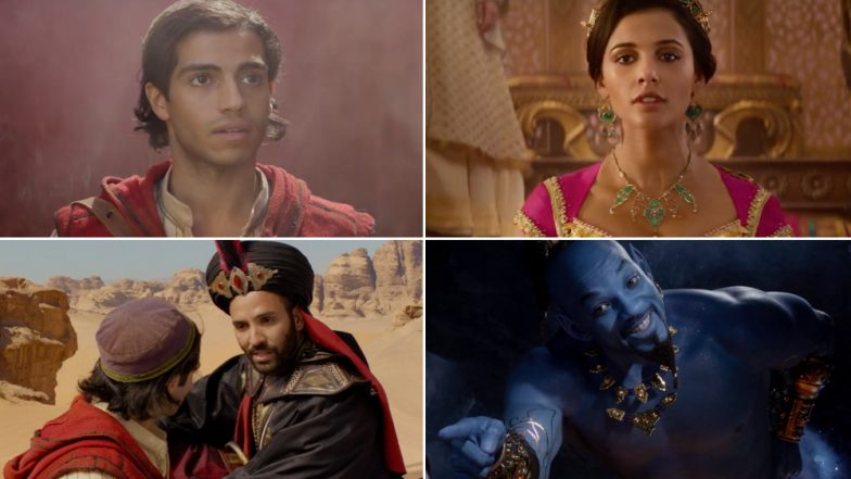 Aladdin New Trailer: Will Smith, as Genie, and Mena Massoud's Chemistry as Friends Finally Shows Potential – Watch Video