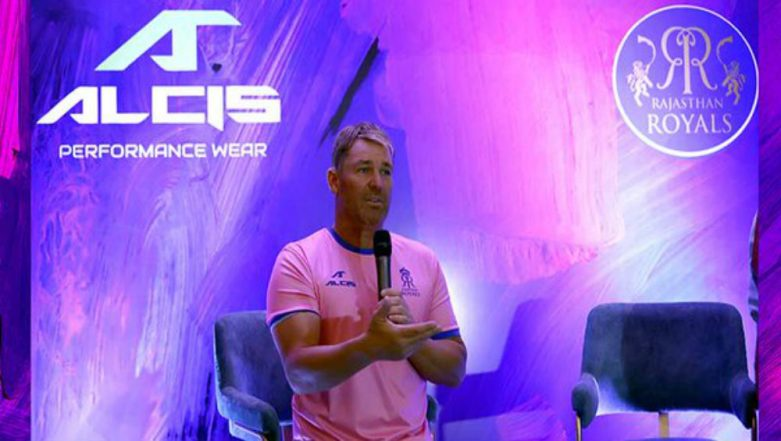 IPL 2019: Rajasthan Royals Announce Alcis Sports as Official Knitting Partner