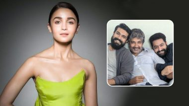 RRR: Alia Bhatt Thrilled to Work With SS Rajamouli, Ram Charan and Jr NTR, Director's Note to the Actress Is a Must Read