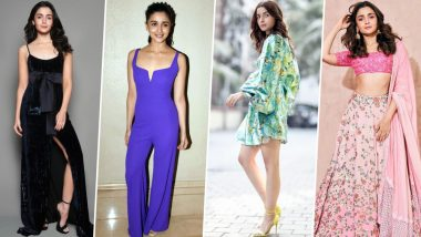 Alia Bhatt Birthday Special: She's a Brilliant Actress But Her Fashion Statements Are Equally Impressive (View Pics)