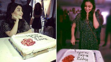 Alia Bhatt Birthday: Inside Pics and Videos OUT! Ranbir Kapoor, Masaba Gupta, Akansha Ranjan Kapoor Celebrate RRR Actress' Special Day With Pomp