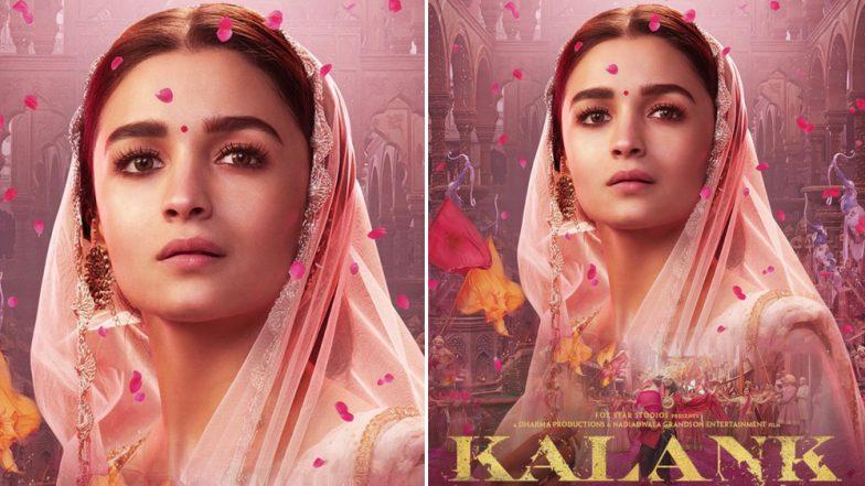 Kalank: Alia Bhatt Looks Breathtakingly Beautiful As the Feisty Roop – See Pic