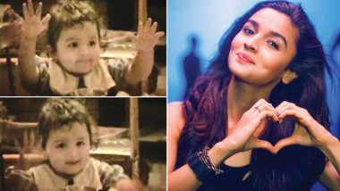 Shaheen Bhatt Shares a Super-Cute Video of Baby Alia Bhatt and That's The Best Gift Any Sister Can Give!
